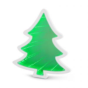 LED čarobno ogledalo - mini božično drevo - baterija