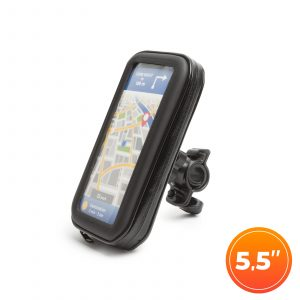 """Torbica z držalom za telefon - za kolesarski ali motor - s površino na dotik - 5,5 """""""