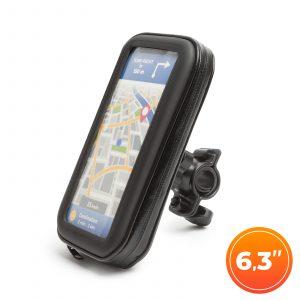 """Torbica z držalom za telefon - za kolesarski ali motor - s površino na dotik - 6,3 """""""