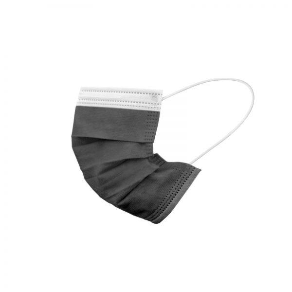 Higienska maska neseterilna črna - 10 kos