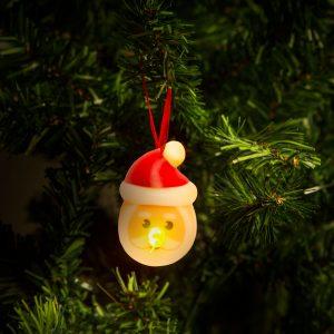 LED čajna svečka - Božiček - 2 kosa / paket