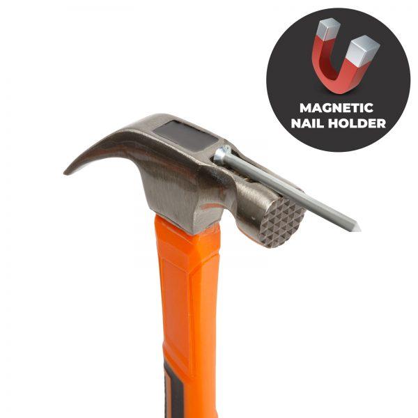Profesionalno kladivo kladivo z magnetno glavo - 470 g