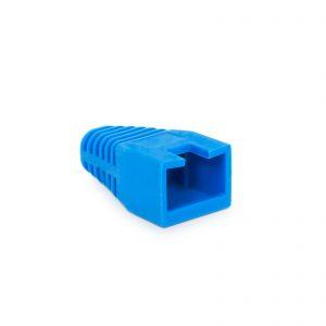 Kapica za modularni vtič 8P8C - modra - 100 kosov / paket
