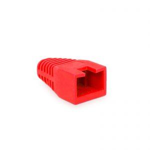 Kapica za modularni vtič 8P8C - rdeča - 100 kosov / paket