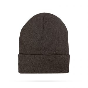 Zimska pletena kapa - črna
