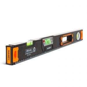 Digitalna vodna tehtnica z LCD zaslonom in zvočnim signalom - 600 mm