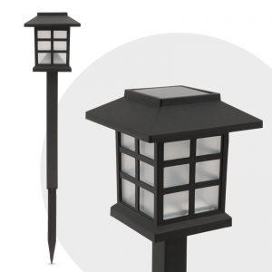 LED solarna svetilka - imitacija plamena - 38 cm
