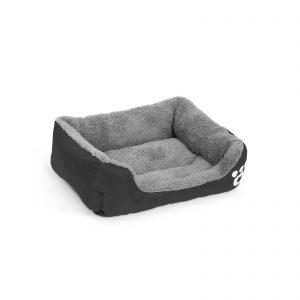 Pasja postelja - 42 x 32 cm - črna