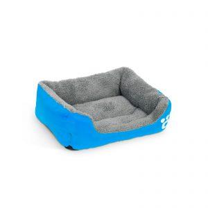 Pasja postelja - 42 x 32 cm - modra