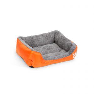 Pasja postelja - 42 x 32 cm - oranžna