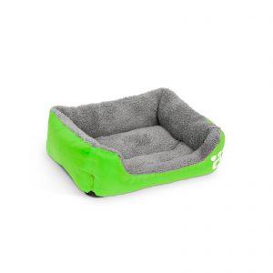 Pasja postelja - 42 x 32 cm - zelena