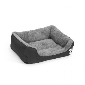 Pasja postelja - 54 x 42 cm - črna