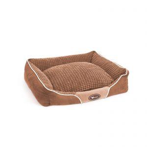 Pasja postelja - 60 x 50 - rjava