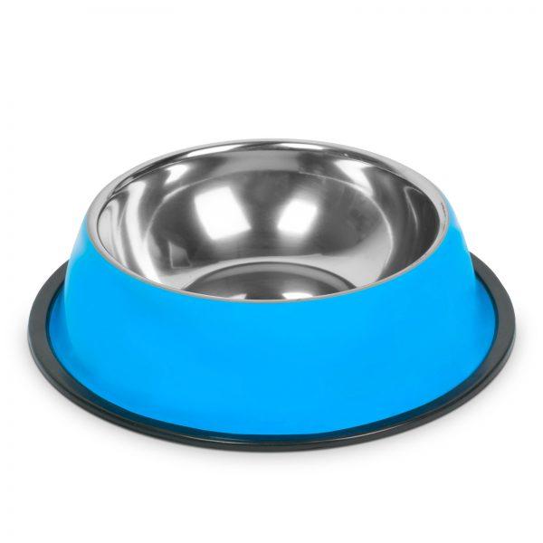 Posoda za hranjenje - 22 cm - modra