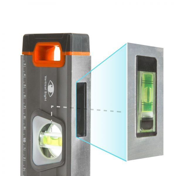 Vodna tehtnica z ravnilom, zrcalna viala - 1000 mm