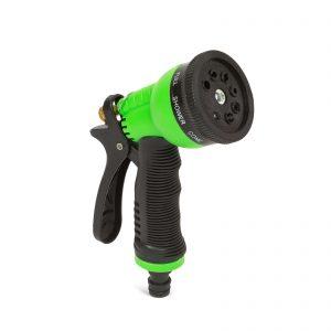 8-funkcijska pištola za zalivanje - zelena